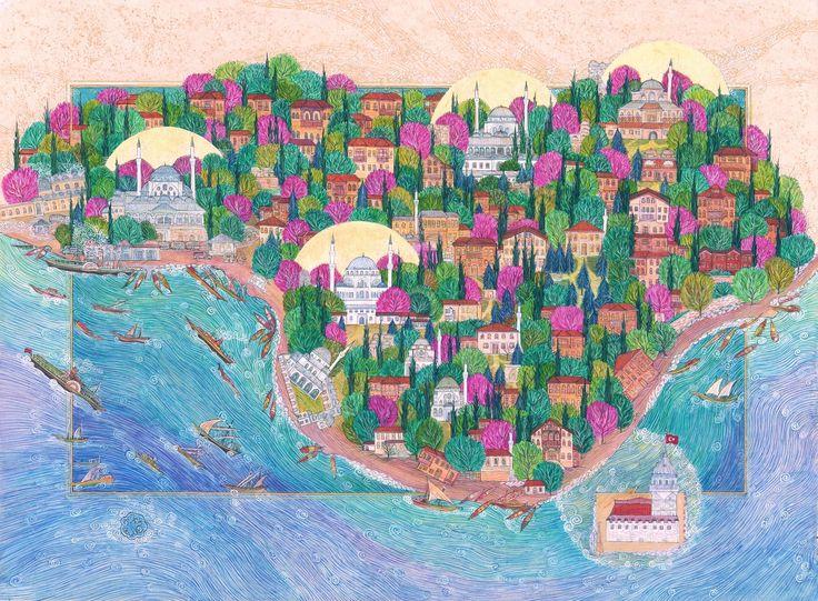 """""""Üsküdar-Istanbul/Turkiye"""" by gulcin anmac"""