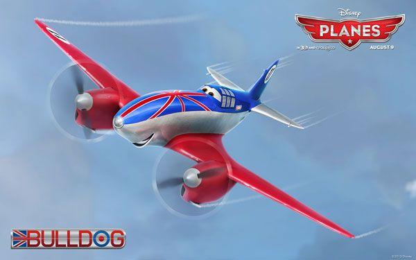 Disneys Planes Movie Wallpaper Bulldog Disney Planes 2013 Movie Wallpapers, Facebook Cover Photos & Character Icons