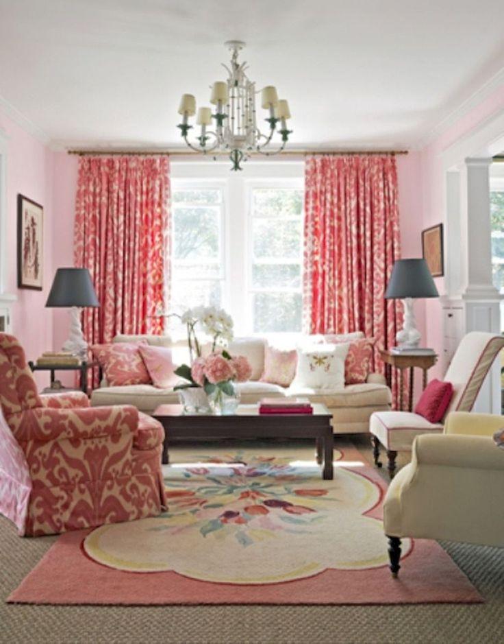 95 cozy feminine living rooms ideas, decor, design trends (1)
