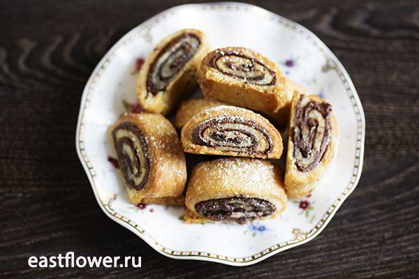 """Шоколадное печенье """"Ругелах"""""""