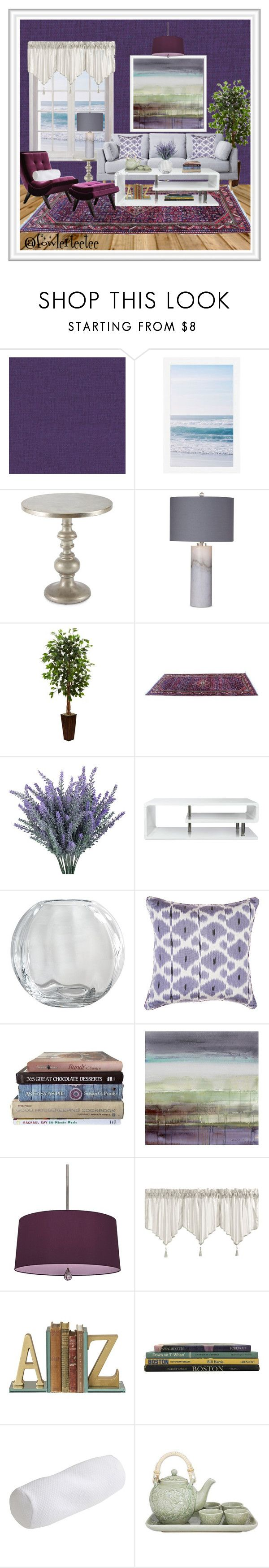 """Purple Perfection"" by fowlerteetee ❤ liked on Polyvore featuring interior, interiors, interior design, home, home decor, interior decorating, Élitis, Pottery Barn, Hooker Furniture and Basset Mirror Company"