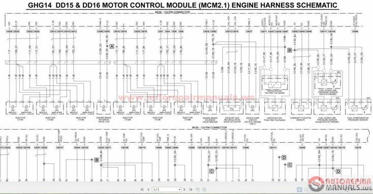 Detroit Wiring Diagrams6 With Diesel Series 60 Ecm Diagram