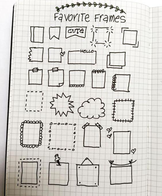 Frame doodles