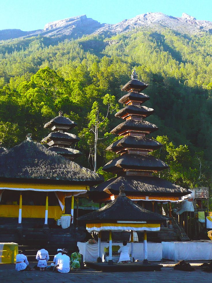 Pasar Agung Temple in East Bali