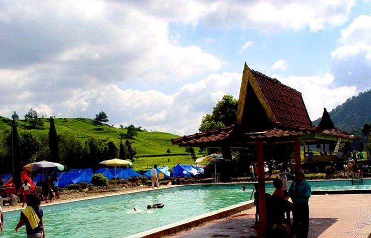 Ciwidey, Tempat Pemandian Air Panas di Bandung