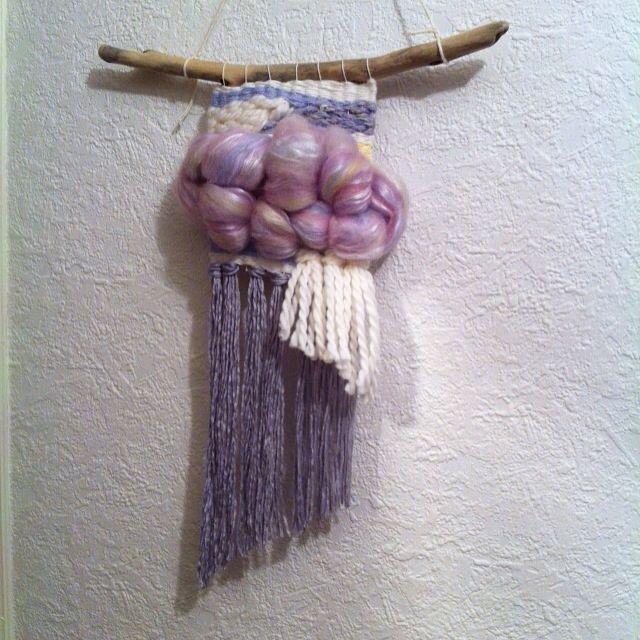 Unicorn weaving .. Original wallhanging