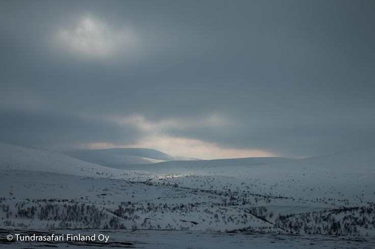#arctic #experience #utsjoki #wilderness #fell #winter #sun