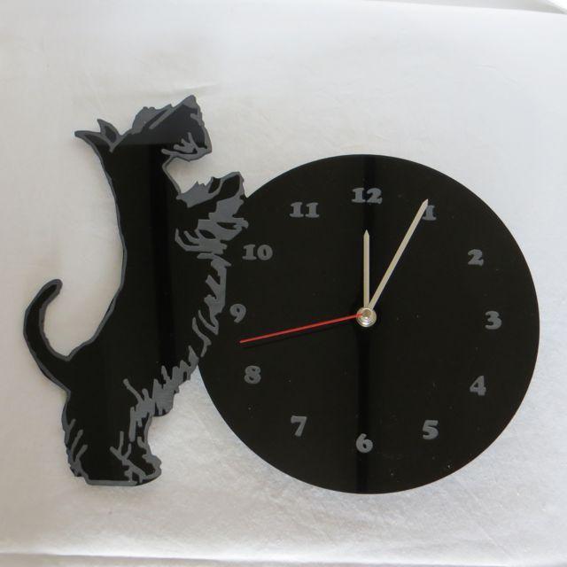 The Curious Scottie Clock