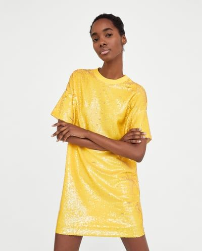 Image 2 of SEQUIN DRESS from Zara