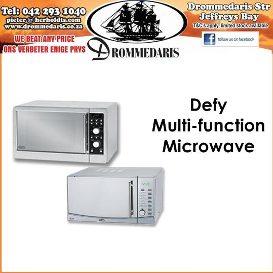 The Defy Multifunction Microwave has Dual heating and Grill; convection with combination cooking. There are many other features to this microwave oven and it is bound to add simplicity to your lifestyle. #appliances #homeimprovement