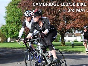 Cambridge 100/50 bike ride