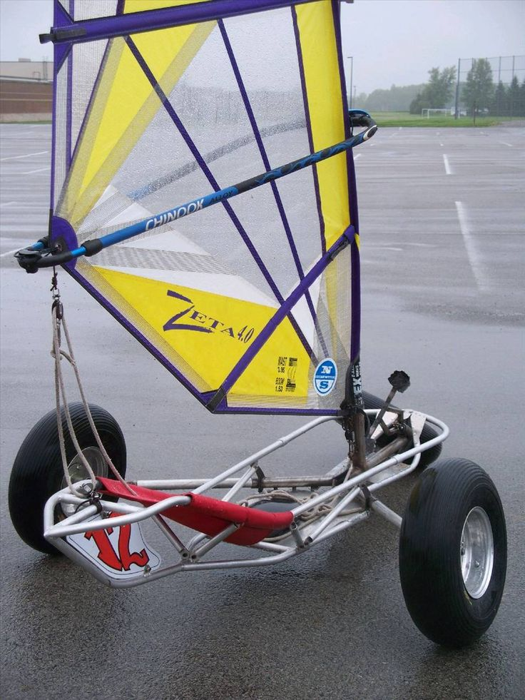 Iceflyer Build - Land Yacht Sailing Construction - Seabreeze Forums!