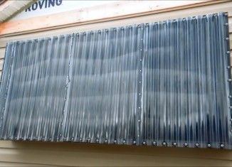 How To Build A Homemade Diy Thermal Heat Collector For Heating