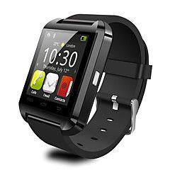 Men's U8 Smart Watch Bluetooth V3.0 Hand-Free Call Function – USD $ 53.99