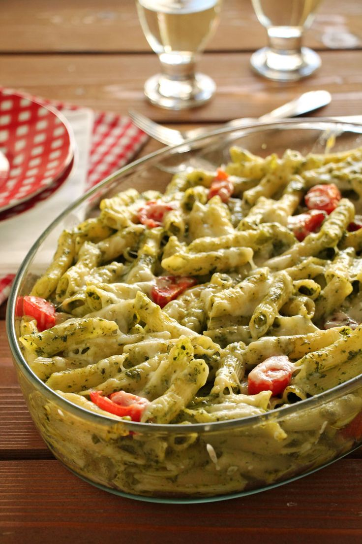 The one with all the tastes | Πένες με ντοματίνια, γραβιέρα και πέστο με σπανάκι και ρόκα