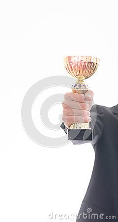 #MatthiasE #Stockimages: http://www.dreamstime.com/Matthiase_portfolio_pg1#res4055207  #prize #white #gold #businessman #hand #successful #award #cup #ceremony #business #achievement #best #isolated #winner #lens #holding #competition #man #contest #win #flare #victory #success #background #place