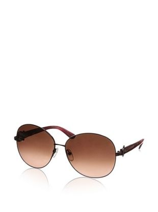 Salvatore Ferragamo Women's SF101S Sunglasses, Shiny Red