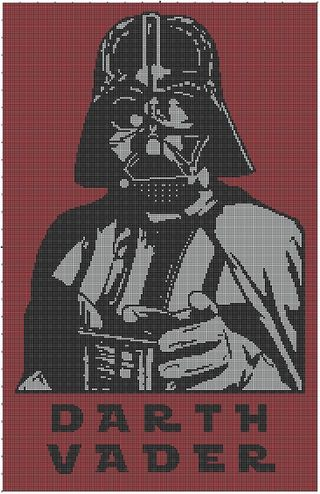 Free Stuff: Star Wars Darth Vader Crochet Afghan Pattern - Listia.com Auctions for Free Stuff