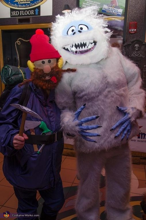 Abominable Snowman and Yukon Cornelius - Halloween Costume Contest via @costumeworks