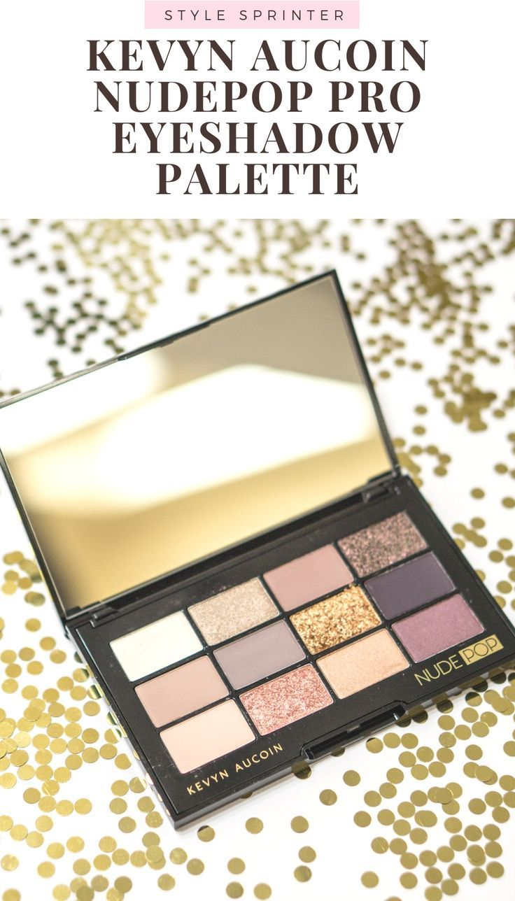 kevyn aucoin nudepop pro eyeshadow palette review and swatches