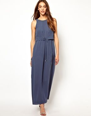 Whistles Double Layer Maxi Dress