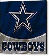 Dallas Cowboys Uniform Canvas Print by Joe Hamilton