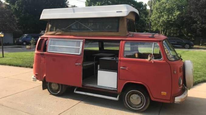 1973 Westfalia Sportsmobile In Grand Rapids Mi Sportsmobile Campervan Life Vw Camper