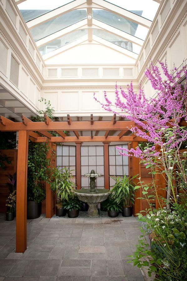 Butchart Garden wedding ceremony location. #weddingvenue #butchartwedding #weddings #butchartgardens