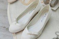 Esküvői cipő szatén női 2290