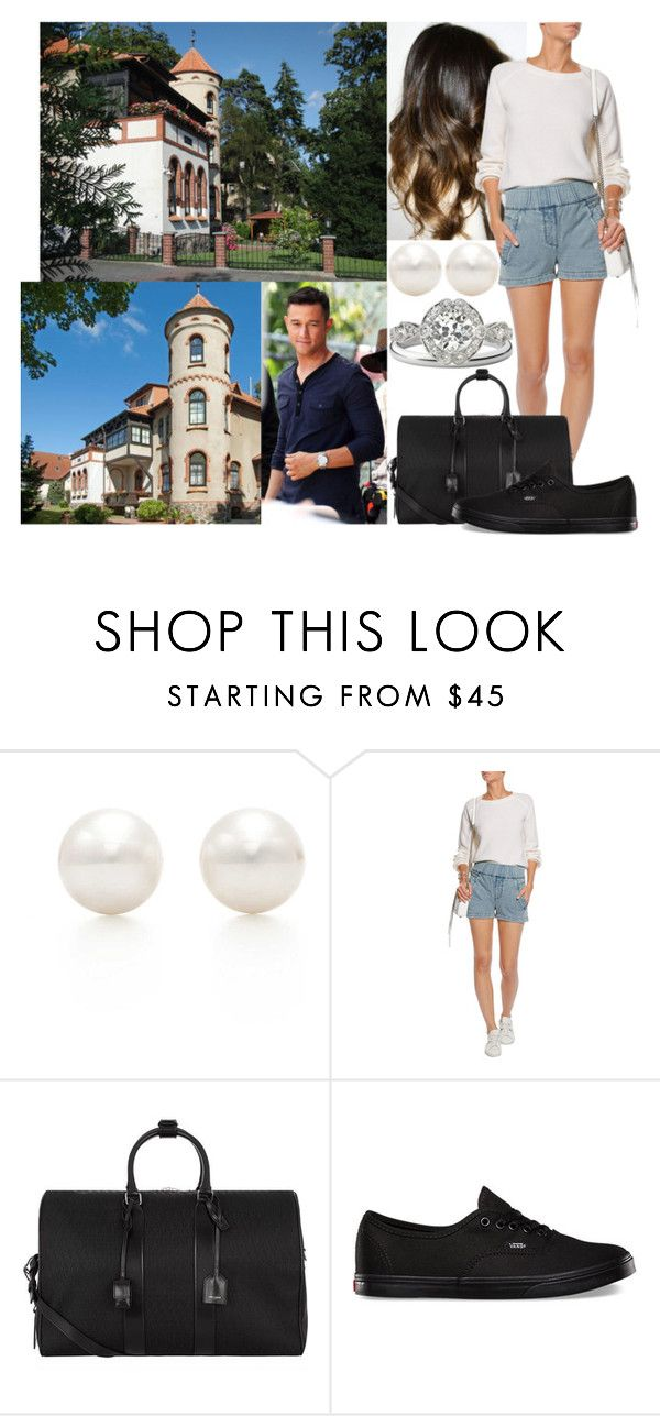 """""""Honeymoon Day 1: Flying to the island of Rügen and arriving at their rented Villa Wiking Hall"""" by astridavhessenstein ❤ liked on Polyvore featuring Tiffany & Co., Helmut Lang, Yves Saint Laurent, Vans, women's clothing, women's fashion, women, female, woman and misses"""