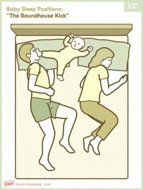 Hur sover ditt barn? http://blish.se/aed45d77b6 #baby #bebisar #sömn #humor