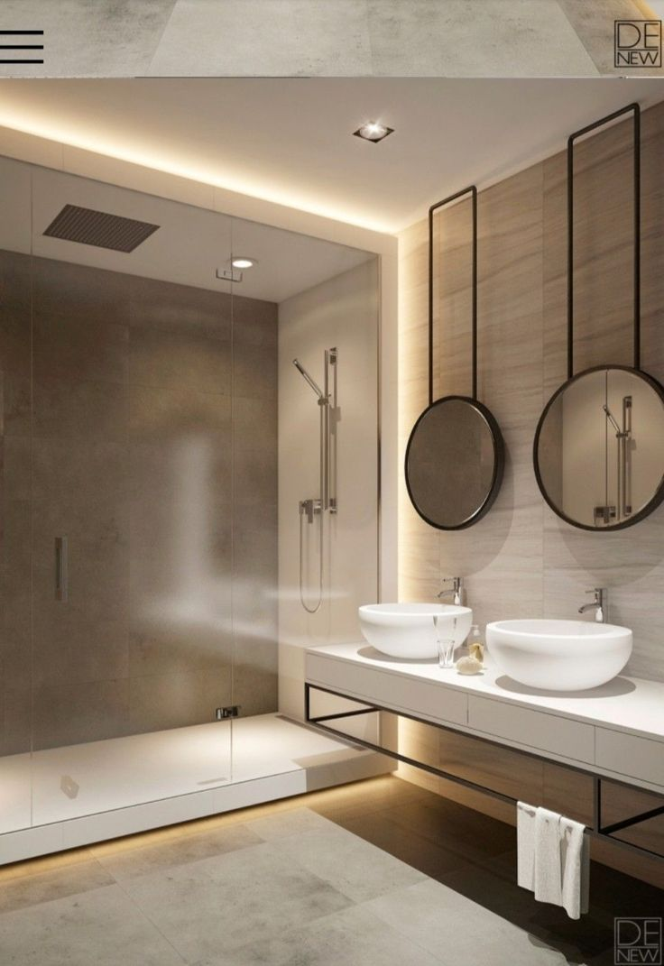 Find the best selection of luxurious bathroom lighting for your next interior design project. Find out more at luxxu.net – badezimmer ideen | Todaypin.com