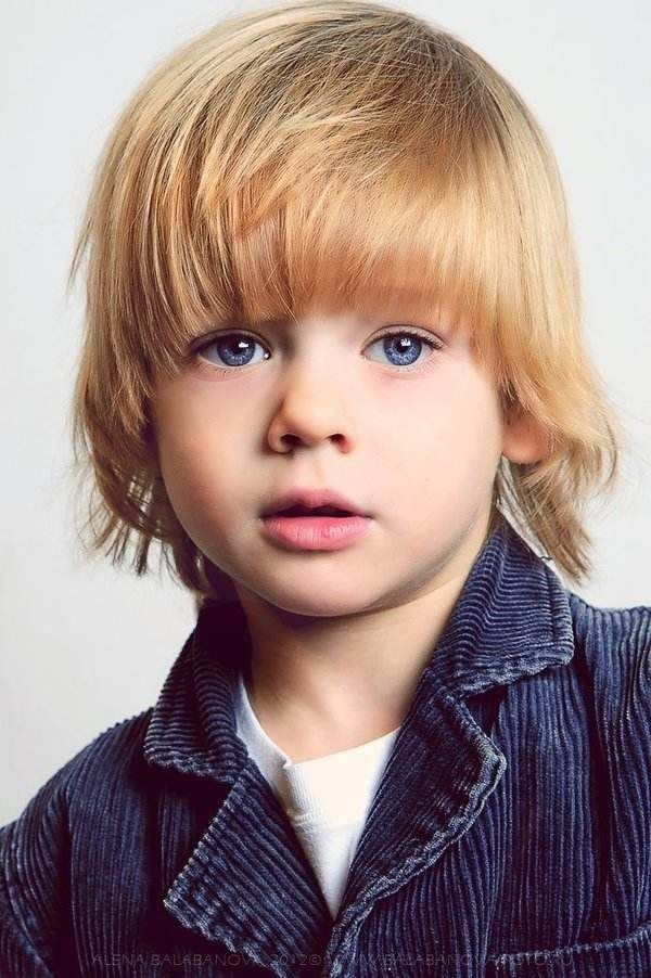 7 Best Preschool Boy Haircuts Blonde Longish Images On