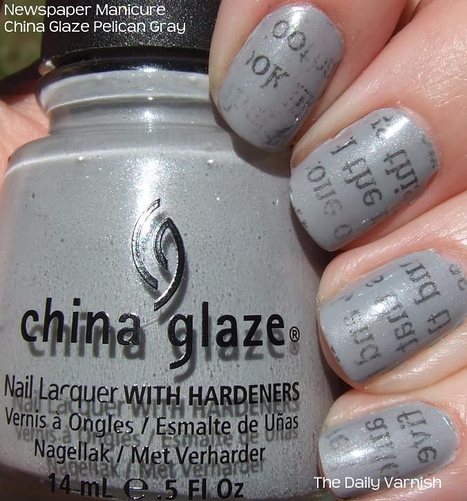 25 gorgeous newsprint nails ideas on pinterest diy nails newspaper print nails maybe with a white base prinsesfo Images