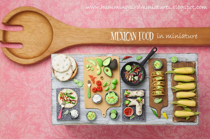 Making Guacamole Prep Board in Grey 1/12 by HummingbirdMiniature
