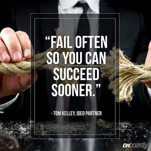 """""""Fail often so you can succeed sooner""""   #quotable #quotes #motivation #GSD #TomKelly"""