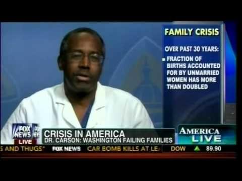Family Crisis In America! - Dr Ben Carson On Family Breakdown In U.S.
