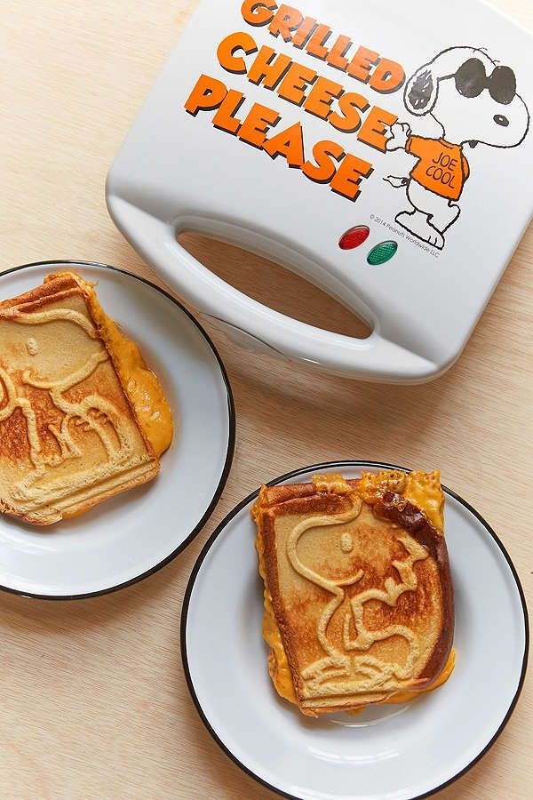 Slide View: 1: Snoopy Grilled Cheese Maker
