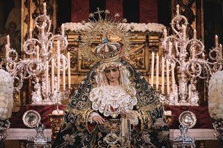 Besamanos María Stma. de la Hiniesta. (Hdad. de la Hiniesta, Sevilla).