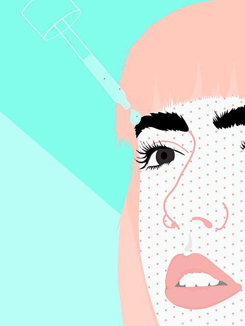 Augenbrauenwachstum anregen