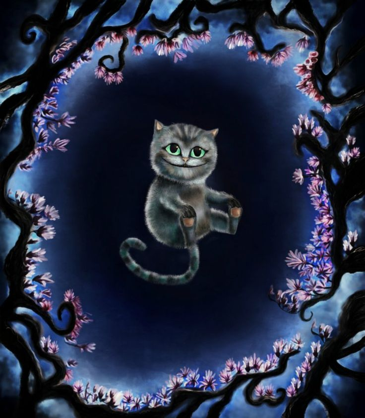 The Cheshire Cat - Alice in Wonderland - Alice Through The Looking Glass #Disney #Alice