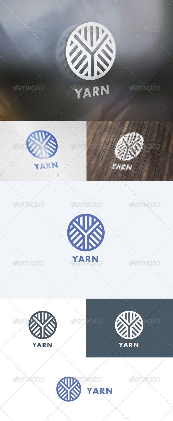 Yarn Logo - Letters Logo Templates