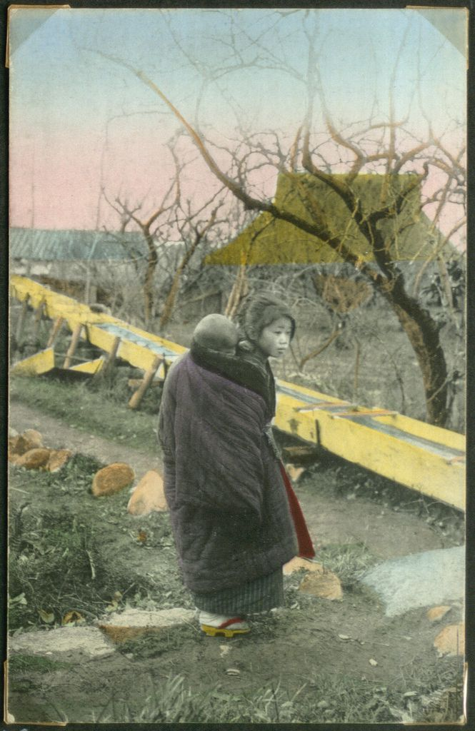 Coloured postcard. Part of a collection which belonged to journalist Holger Rosenberg. No. es_b_00707b