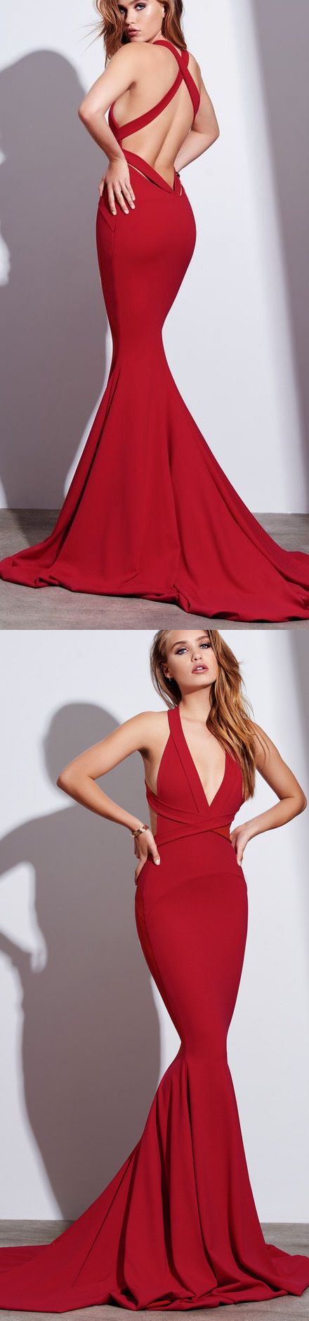 Red Prom Dresses, Long Prom Dresses, Long Red Prom Dresses, Prom Dresses Long, Prom Dresses Red, Red Long Prom Dresses, Prom dresses Sale, Long Evening Dresses, Long Red dresses, Red Long dresses, Criss-Cross Prom Dresses, Criss Cross Prom Dresses, Sweep Train Evening Dresses, Sleeveless Prom Dresses