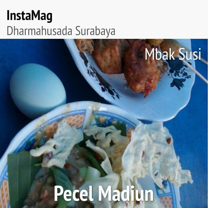 Pecel Madiun mb Susi  Dharmahusada Surabaya 2015