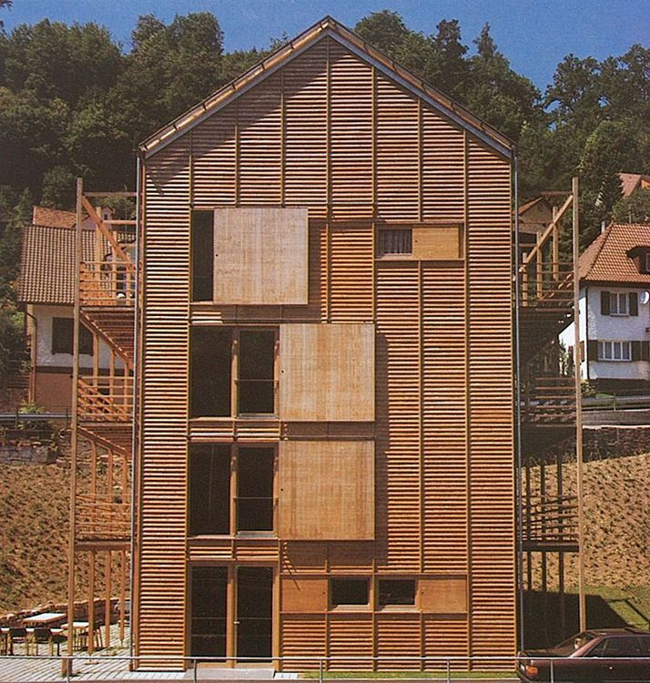 MGF Architeken - Housing for the elderly, Neuenbürg 1996.