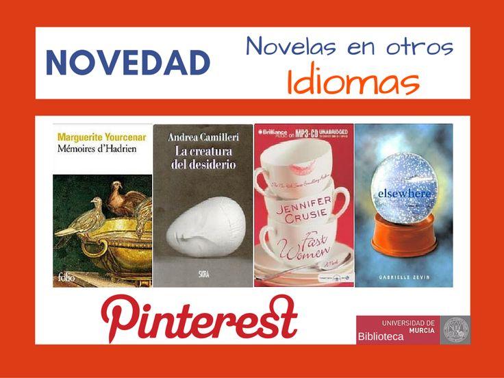 Novedad novelas en otros idiomas