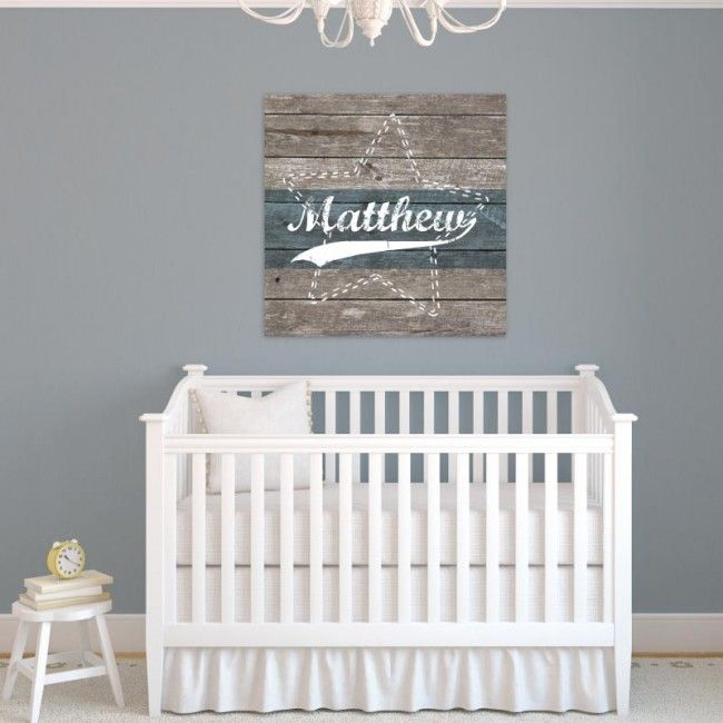 17 best babykamer decoratie steigerhout look images on for Muurdecoratie babykamer