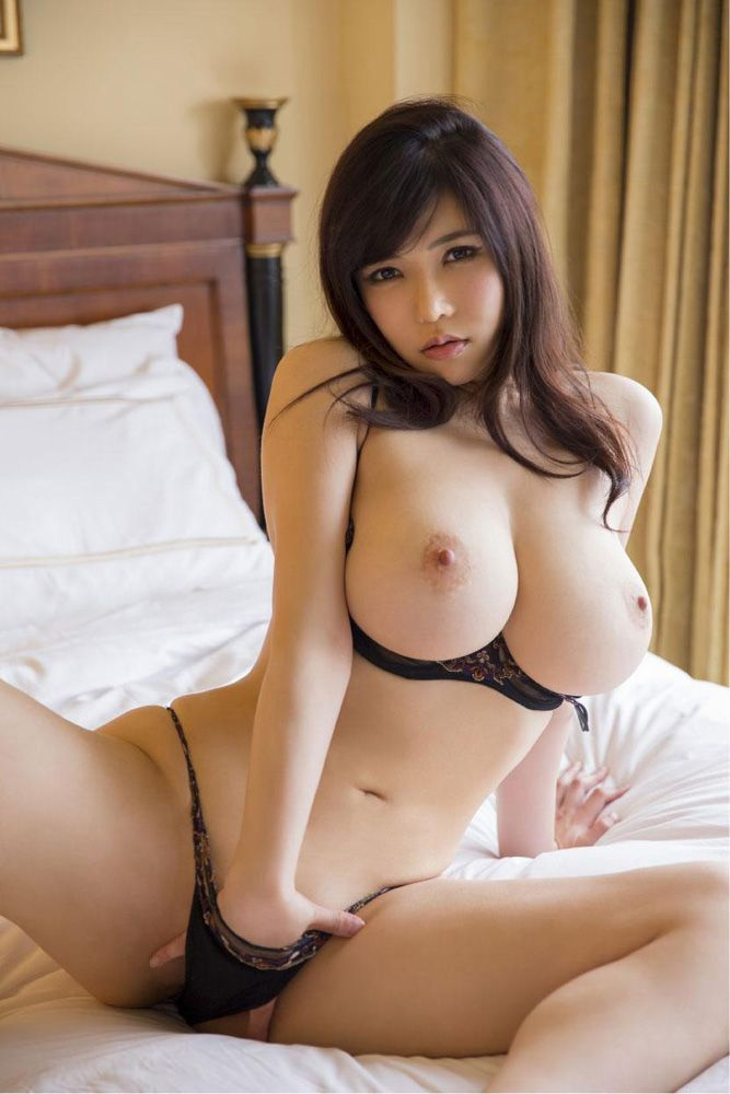 Hot asian with big boob