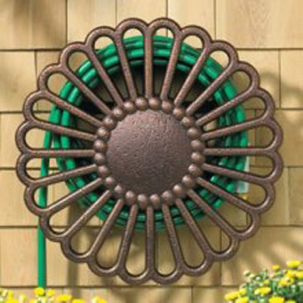 Whitehall Veneti Garden Hose Holder - Hose Reels at Hayneedle the-great-out-my-front-door
